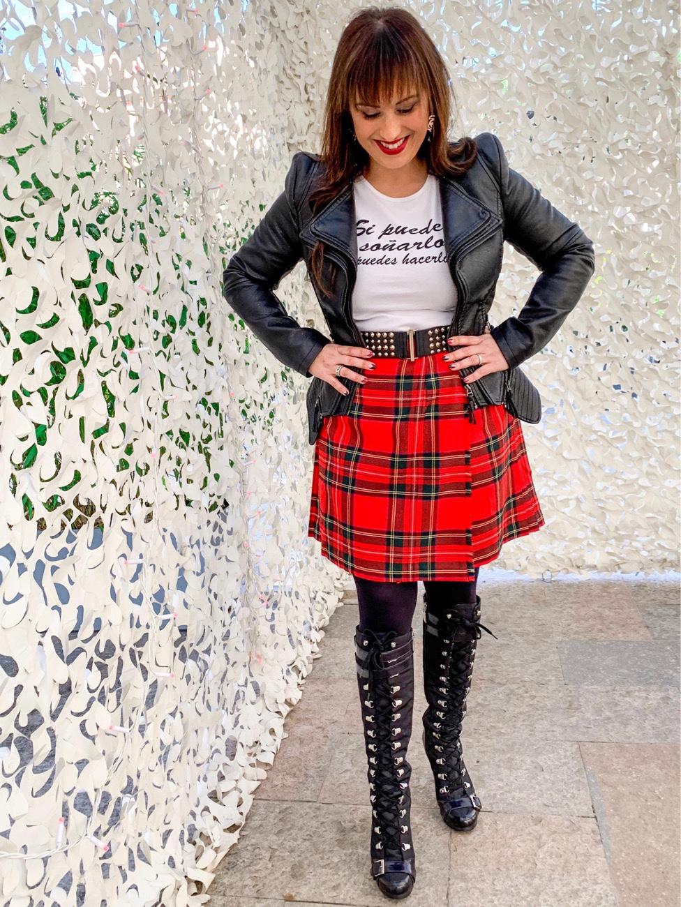 """La falda escocesa todo un""""Must"""""""