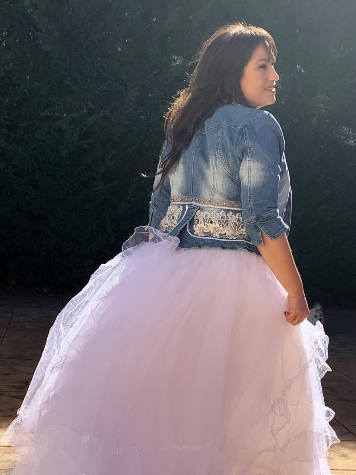 whynot-shopper-vestido-de-novia-blogger-nupcial-tul-denim-riñonera