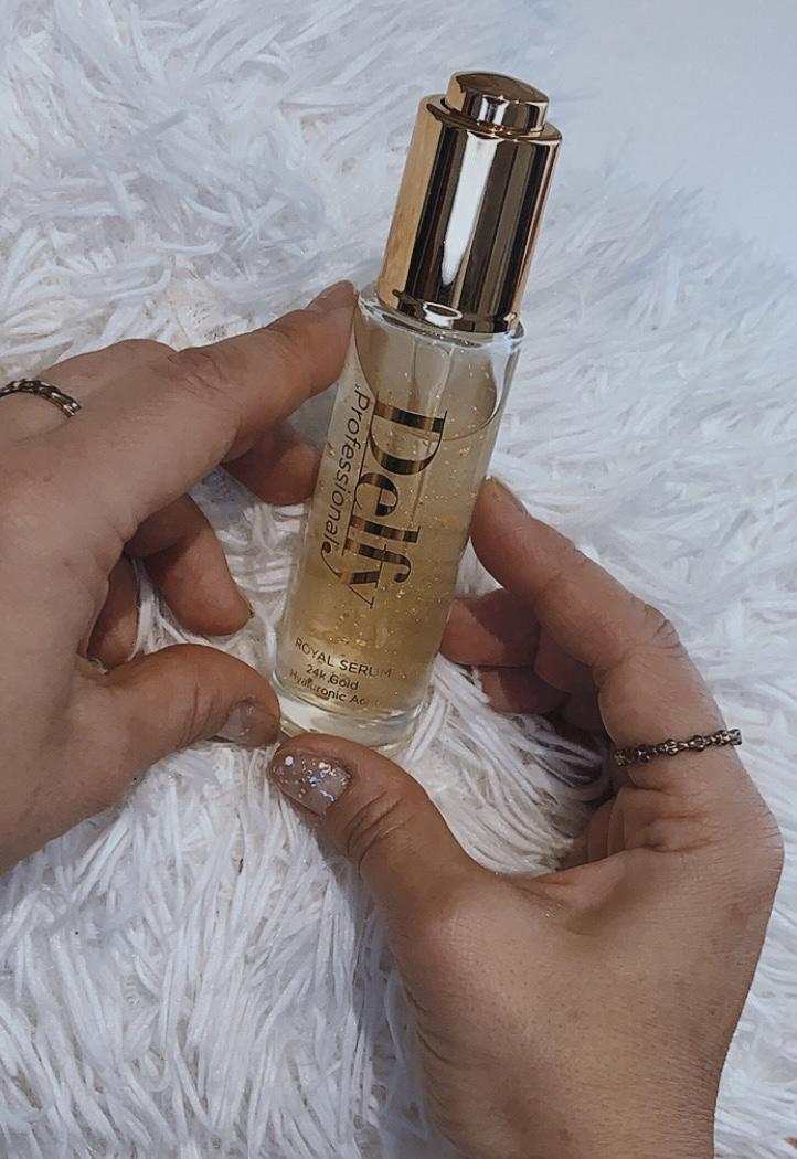 Delfy-cosmetics-whynotshopper-beauty-whynot-shopper-royal-serum-oro-24k-cosmetica-hipoalergenico-cosmetica-natural-tips-acido-hialuronico-goma-tara-facial-gold-skincare-cara-alta-cosmetica